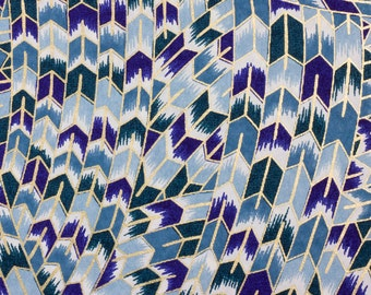 Chiyogami Paper 'Mosaic Knot' 28c Handmade to use in your Cardmaking, Scrapbooking, Craft and Art Projects