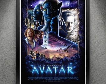 "Avatar - ""Pandora a la Struzan"" 13x19"