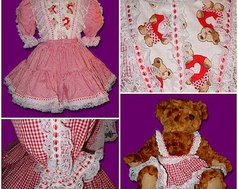 Teddy and Me Sissy Dress