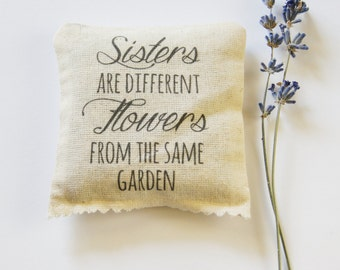 Sisters Scented Sachet, Gift for Sister