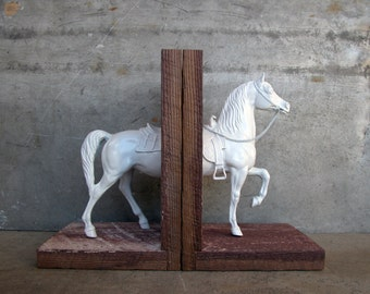 western cow pony bookend EQUINE COLLECTION - moving sale