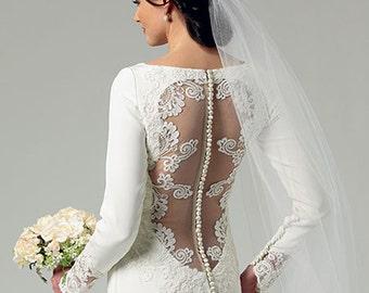 Butterick 5779, Wedding Dress Sewing Pattern, New Uncut Pattern for Wedding Dress and Bridesmaids Dress, Sizes 12-20