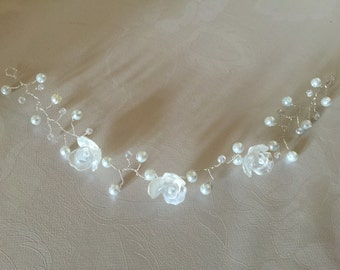 Bridal/prom hair vine headdress tiara crown