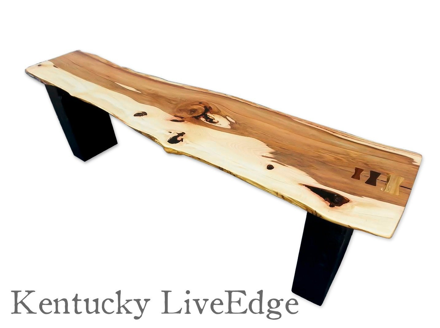 Live Edge Bench Modern Bench Modern Coffee Table Live Edge