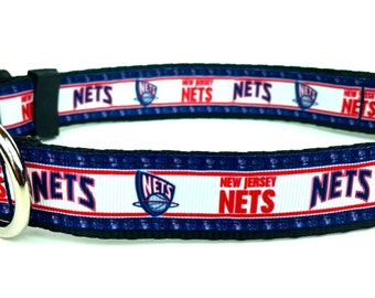 New Jersey Nets Dog Collar