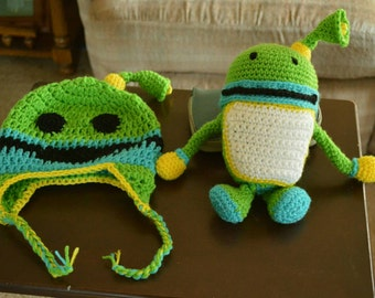 Crochet Umizoomi  bot  and  hat