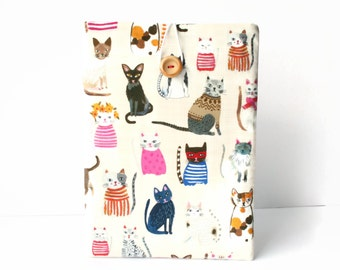 Kindle Cover, Kindle Oasis Case, Kindle Voyage Sleeve, Cover for Paperwhite Ereaders and Tablets - Cats on Cream