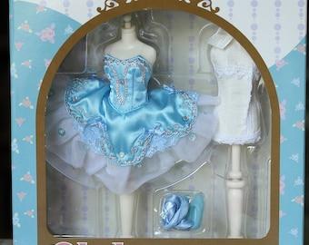 "Blythe torso Takara Dress Set ""Body Beautiful"" Ballerina Beauty"
