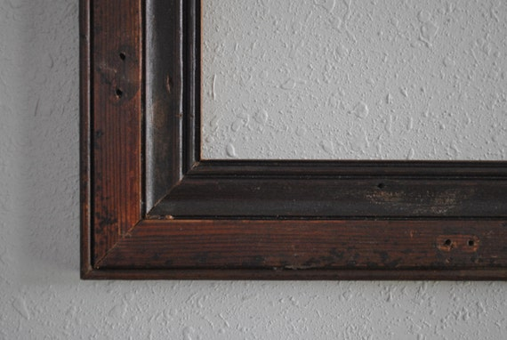 13 x 19 old door trim black wood frame re purposed and weathered reclaimed door casing from. Black Bedroom Furniture Sets. Home Design Ideas