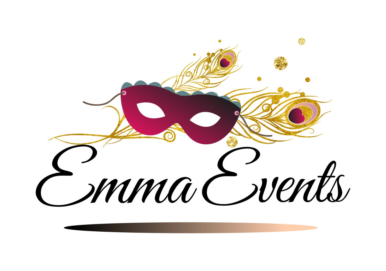 Party event logo design images for Decoration logo