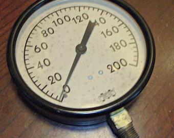 Vintage MARSHALLTOWN Pressure Gauge