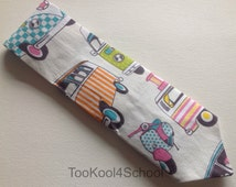 Adult VW Camper van and scooter fabric tie