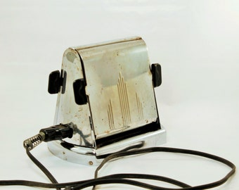 Flip Side Toaster, Two Slice Toaster, Toaster, Antique Toaster