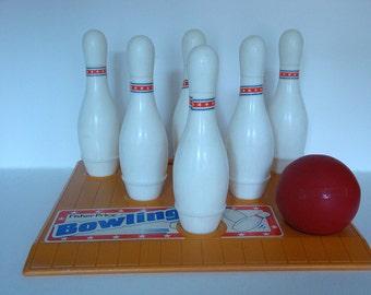 Vintage Fisher Price Bowling Game