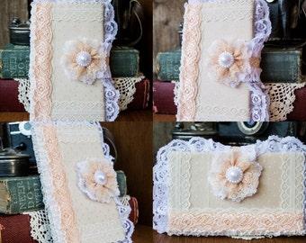 SALE!!! Beautiful Custom Journal/Diary/Bridal Diary/Travel Notebook