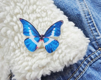 Cute Moth Insect Bug Butterfly Nature Entomology Pin Badge Brooch