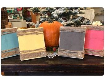 Bulk Rate - 5x7 Picture Frame - rustic frame - Minimum purchase of 10