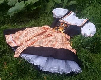Dirndl petticoat, Dirndl skirt
