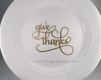 D0001-decorative plate, Thanksgiving plate, unique fall home decor, home decor, handmade gifts, unique handmade gifts, holiday gifts, gifts