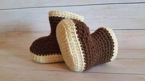 Crochet Pattern Baby Rain Boots : Baby Rain Boots Crochet PATTERN