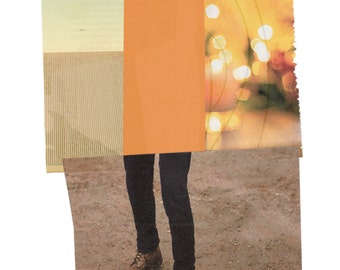 "Original Handmade Collage - ""Legs"""