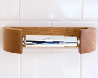 Cherry TP Holder - Modern Curve Toilet Paper Holder