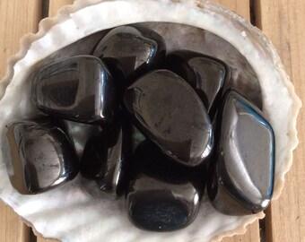 Jet Healing Stone, Stone of Protection, Stabilizing Stone, Healing Crystal, Chakra Stone, Spiritual Stone, Meditation Stone