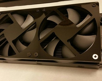 Custom 240mm fan grill with 15mm spacing