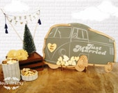 Custom order for Kelley- 1 VW Campervan & 1 VW Beetle Guest Book