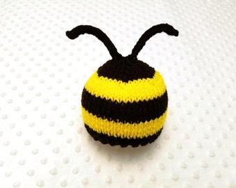 Bee Baby Hat - Bumblebee Baby Hat - HoneyBee Baby Hat - Bee Newborn Hat - Bee Newborn Photo Prop - Bee Baby Halloween Costume