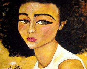 Natural Woman - Fine Art Print