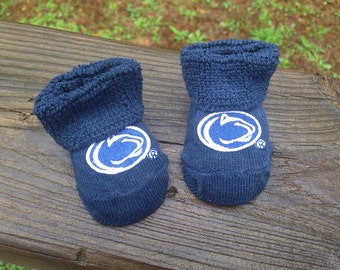 Penn state baby booties