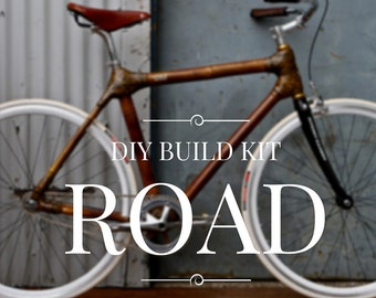 Bamboo Bike Frame Kit | Road & Commuter Edition
