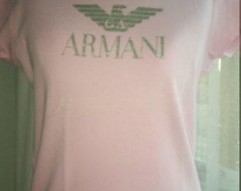 Pink Tshirt Armani
