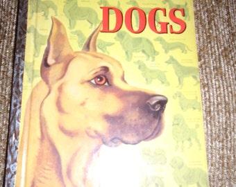 Vintage Golden Book DOGS 1952