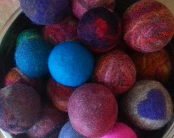 Wool Dryer Balls - Set of Three dryerballs