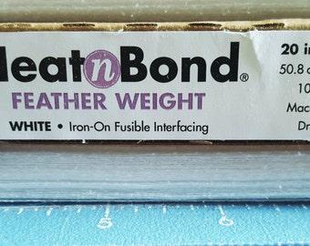 Non Woven-Feather Weight Interfacing- Heat n Bond
