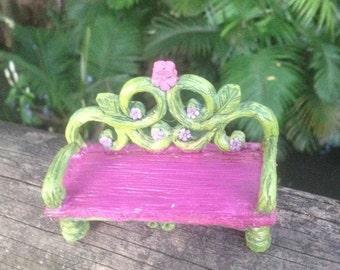 Fairy bench seat