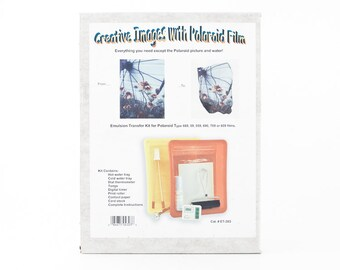Creative Photo Transfer Kit by Romar - Creative Images with Polaroid Film kit - Brand new never used - POLAROID SX70 Emulsion transfers Kit