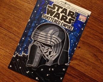 Star Wars Shattered Empire Variant sketch KYLO REN