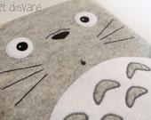 Totoro inspired tablet case