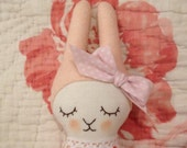 Rose Scented  Bunny Artist Doll