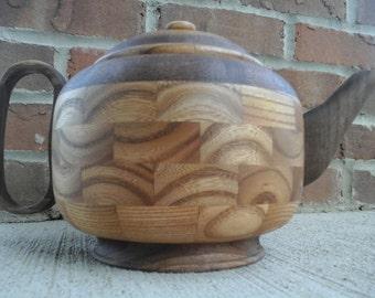 Wood Tea Kettle