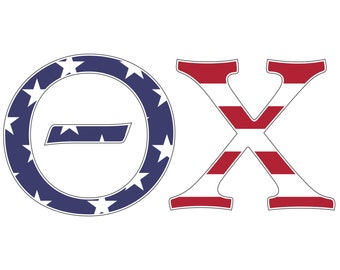 theta chi usa letter sticker outside carcomputer exclusive