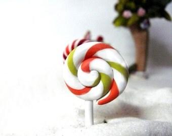 Two Fairy Garden Lollipops Miniature Garden Accessories
