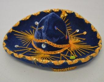 Small sombrero from Mexico 1980s diameter 15cm
