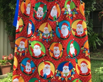 Girls Handmade Christmas  Dress sizes 4 & 6 only