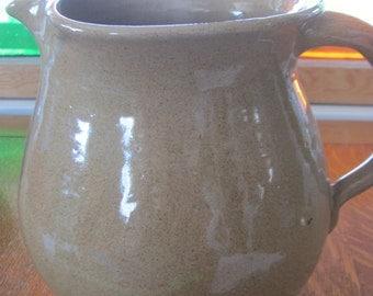 Handmade Ceramic Brown Pitcher