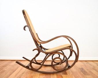 Vintage Rocking Chair Etsy