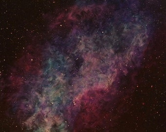 Space Art Original Painting Nebula
